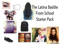 Latina school starter pack #LocalMemes