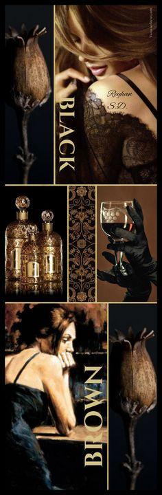 '' Black & Brown '' by Reyhan S.D.
