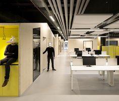 JM0 open-space, Saint-Ouen, 2015 - FUSO Atelier d'Architectures
