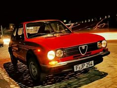 Alfa Romeo Alfasud 1.3 SC - My second car!