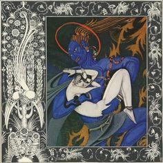 (Symbol #20-Air-Storm)- Kai Nielsen :: Storm God, The Tale Of The Second Dervish Detail, 1917