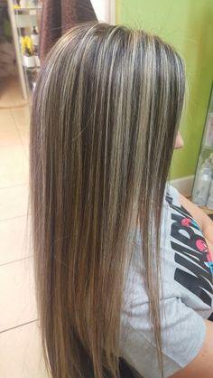 Mechas Dorada Con Beige Doradas Pinterest Hair