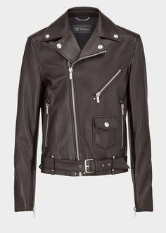 Giacca stile motociclista in nappa - nero Giacche & Cappotti