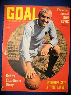 Manchester United Old Trafford, Coventry City Fc, Bobby Charlton, Vintage Football, Magazine Articles, Magazines, Soccer, The Unit, Goals