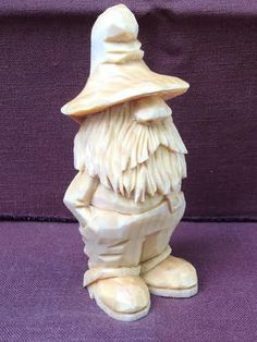 Hand Carved Rufus the Moonshiner Wood Carving    by RWKWoodcarving, $70.00