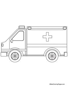 police car coloring page for kids side view google search gift ideas pinterest police. Black Bedroom Furniture Sets. Home Design Ideas