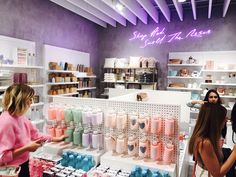 I Visited Riley Rose, Forever New Beauty Store, & It's The Candy-Colored Dreamland You've Been Waiting For Boutique Interior, Clothing Store Interior, Salon Interior Design, Black Beauty Supply, Beauty Supply Store, Makeup Boutique, Beauty Boutique, Estudio Makeup, Aesthetic Stores