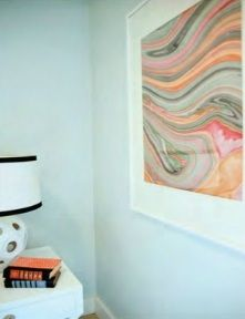 Marble paper art - Danielle Oakey Interiors
