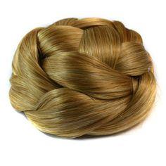 Wig Hair Pack Bun Vintage Chignon J-12 16M613#