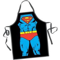 Superman Apron! How buff would i look