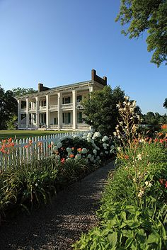 Battle of Franklin Trust - Carnton Plantation and garden. Was a dream trip for me to visit this. Blood stains still on floor from use as a hospital during battle of Franklin. You must read The Widow of the South