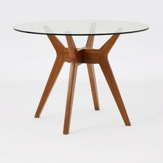 Available in a premium quality, West elm provides the exceptional Jensen Round Dining Table. Buy now Jensen Round Dining Table at the best price with available delivery to Jeddah, Riyadh, and all areas around KSA West Elm Dining Table, Glass Round Dining Table, Pedestal Dining Table, Dining Table Design, Solid Wood Dining Table, Glass Table, Table And Chairs, Round Glass, Dining Chairs