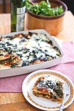 Vegetarian Lasagna for Dinner