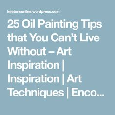 How to Make Oil Painting Medium by Mixing Linseed Stand Oil and