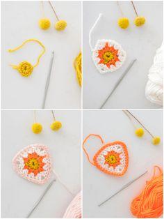 Crochet pattern campingslinger - wimke.nl #garland