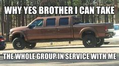 At last a service vehicle with lots of room in the backseat for the group. (Even with big heavy winter coats on! Funny Quotes, Funny Memes, Jw Funny, Jehovah's Witnesses Humor, Jw Jokes, Jw Humor, Christian Humor, Seriously Funny, Bible Truth