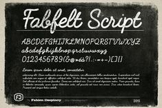 Fabfelt - Free font
