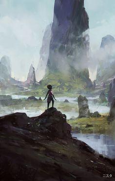 NYSTA 6 by Amir Zand | Fantasy | 2D | CGSociety