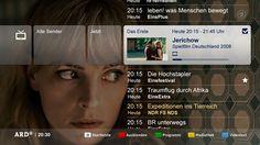 ARD Digital - Digitales Fernsehen der ARD - Digitalfernsehen - Digital TV - ARD EPG