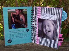 With Glittering Eyes: Artbooking - Handmade Photo Journal