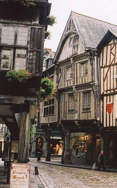 Dinan, France - I come here a lot when I go to France specially before, when my cousins used to go to a school here.