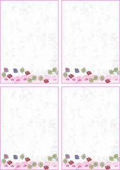 free stationery to print out - Google Search