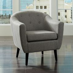 Signature Design By Ashley Klorey Accent Chair |  Accent your decor in chic, mid-century style with this Signature Design by Ashley Klorey Accent Chair.