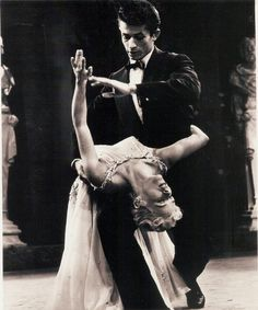 george chakiris & sally forrest dance to cole porter's night & day, 1956