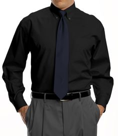 Traveler Collection Traditional Fit Button-Down Collar Dress Shirt