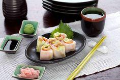 Sushi Groove asks you to, NAME ME!  Inside: Salmon, Avocado, Kani Stick  On Top: Cashew, wasabi mayo