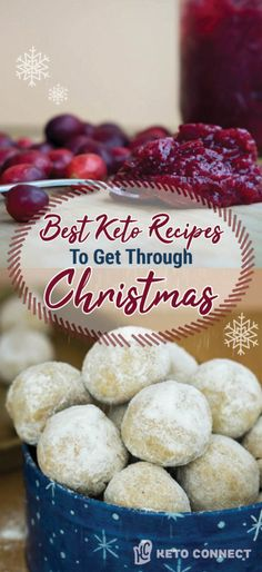 Best Keto Christmas Recipes Use these Keto Christmas Recipes to help you stay on track and satisfied at this years celebrations!Use these Keto Christmas Recipes to help you stay on track and satisfied at this years celebrations! Low Carb Dinner Recipes, Low Carb Desserts, Keto Dinner, Dessert Recipes, Xmas Dinner, Breakfast Recipes, Diet Breakfast, Dessert Bread, Delicious Desserts