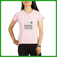 CafePress - Cute Nurse Practitioner - Womens Athletic T-Shirt, Performance Dry Shirt - Careers professions shirts (*Amazon Partner-Link)