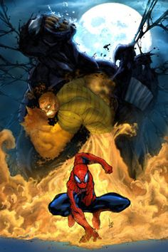 Animated Spiderman 3