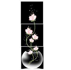 Canvas Print Modern Canvas Wall Art Giclee Art Print Pink Flower MailingArt http://www.amazon.com/dp/B00PBWLWT0/ref=cm_sw_r_pi_dp_lkN6wb13KW2S2