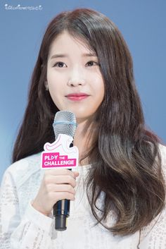 150908 IU at Samsung Play the Challenge Talk Concert Dont Forget To Smile, Got7 Bambam, Her Music, Debut Album, Jaehyun, Korean Singer, Kpop, Actresses, Beauty