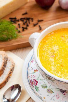 Cauliflower-Cheddar Soup #Recipe