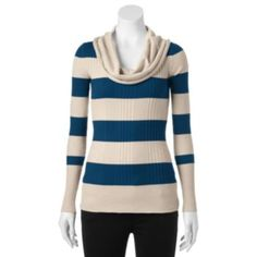 Candie's Cowlneck Tunic Sweater - Juniors | Style for Her ...