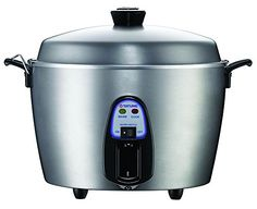 Tatung TAC-11KN(UL) 11 Cup Multi-Functional Stainless Steel Rice Cooker, Silver Gray -- This is an Amazon Affiliate link. Details can be found by clicking on the image.