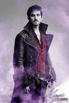 Captain Hook - once-upon-a-time Fan Art
