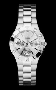 Zilver horloge staal W11610L1 €179.95