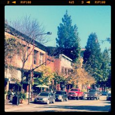 Charming Downtown Santa Rosa.  (Downtown Santa Rosa, California)