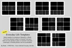 Everyday LIfe Photobook Templates