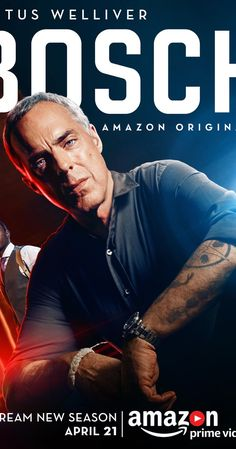 Created by Michael Connelly, Eric Ellis Overmyer.  With Titus Welliver, Jamie Hector, Amy Aquino, Lance Reddick. An LAPD homicide detective works to solve the murder of a 13-year-old boy while standing trial in federal court for the murder of a serial killer.
