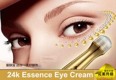 1pc Gold Essence Eye Cream Anti Repairing Dark Circles Bag Wrinkles for Night women ageless personal moisturizing face care