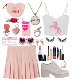 """""""Untitled #238"""" by isobelle206 ❤ liked on Polyvore featuring ALDO, Vagabond, Isadora, ZeroUV, Kate Spade, Stila, Smashbox, Maybelline, NYX and Beats by Dr. Dre"""