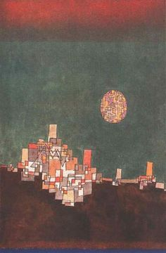 'Chosen Site' - (1940) -Paul Klee.