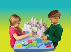 Play Visions Sands Alive! Ultimate Sealife and Castle Deluxe Set, Exclusive Limited Edition With 20 Molds.