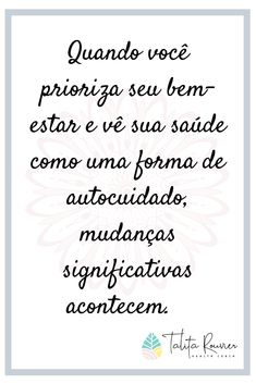Frases Coaching, Us Health, Take Care Of Yourself, Digital Marketing, Love You, Mindfulness, Tips, Lifestyle, Instagram