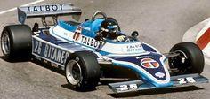 Jacques Laffite - Ligier JS17 Matra MS81 - Équipe Talbot Gitanes - XXXIX Grand Prix Automobile de Monaco - 1981 World Championship for Drivers, round 6