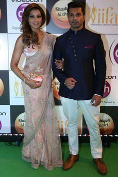 Bipasha Basu and Karan Singh Grover | Here Is What Bollywood Celebrities Wore To IIFA Rocks 2016